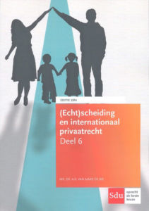 Boek Echtscheiding en internationaal privaatrecht